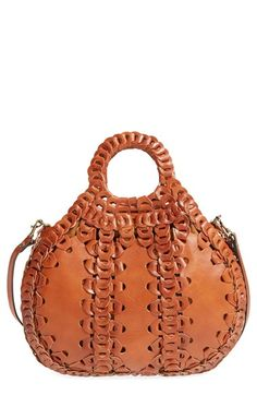 Patricia Nash 'Sensie' Leather Satchel