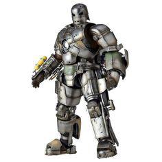 Kaiyodo Sci Fi Revoltech 045 Marvel Avengers Iron Man Mark I MK 1 Action Figure | eBay