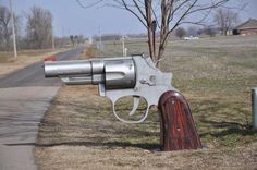 """Now this is my kind of mailbox! Gives a whole new meaning to """"Going Postal""""..."""