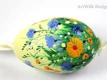 Easter  eggs, hand painted