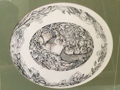 Polly Chase - Framed Etching - Beautiful Rabbit - Signed & Numbered 31/250