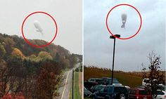 Military blimp crashes in Pennsylvania