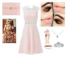 """""""Prom #1"""" by mycatiscool ❤ liked on Polyvore featuring Giambattista Valli, Steve Madden, Alexander McQueen, Tiffany & Co., women's clothing, women, female, woman, misses and juniors"""