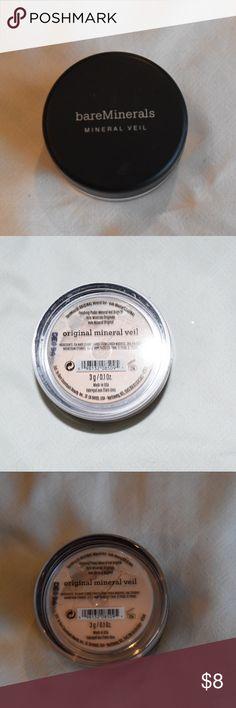 Bare Minerals Mineral Veil Brand new bare minerals mineral veil. Never opened nor used! bareMinerals Makeup Concealer