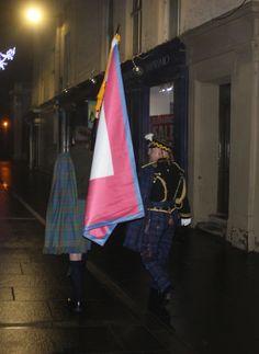 Jacobite Tours. Procession to St John's Kirk Perth,come join our Campaign,visit jacobitetours.co.uk