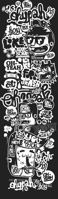 Oh yeah by mgng , via Behance