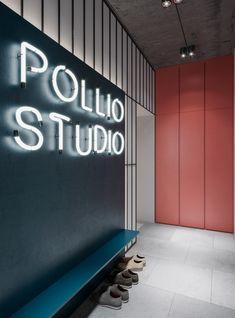 Pollio studio office in Kiev.