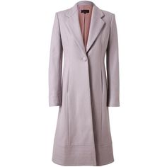 L'WREN SCOTT Tailored Virgin Felt Wool Coat ($2,695) ❤ liked on Polyvore