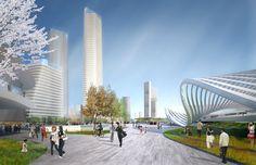 SOM Wins Master Plan Competition for Beijing Bohai Innovation City,© SOM