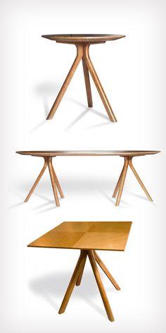 Sistema de mesas Trento de CN Decoracion fue distinguida con el Sello de Buen Diseño 2011.