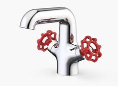 Dorf Industrie. Industrial style basin mixer #ontrend