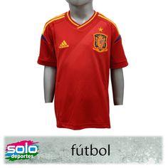 Camiseta España Oficial Kids  $ 319,00 (U$S $69.35)