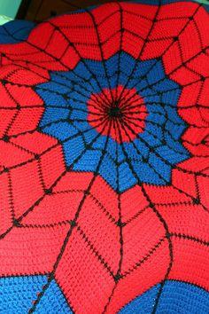 Harris Sisters GirlTalk: Spiderman Afghan