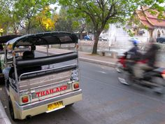Tuk Tuk in Chiang Mai, Thailand : photo by The Lacquerie