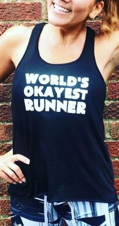 We hate cardio! You can get your running tanks here!