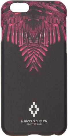 Marcelo Burlon County of Milan - Black Naibi iPhone 6 Case