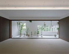 jun aoki designs M house in tokyo with trapezoidal plan