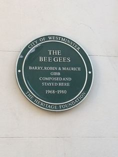 The Bee Gees - Barry, Maurice & Robin Gibb - Brook Street, London, W1