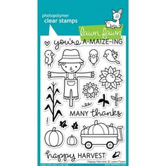 Lawn Fawn HAPPY HARVEST Clear Stamps LF971 at Simon Says STAMP!
