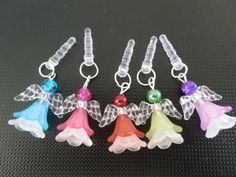 Angel Heaphone Charms/Dust stoppers