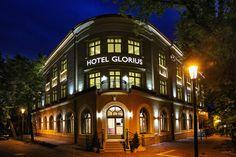 Grand Hotel Glorius Makó - hotel fascade http://glorius.hu