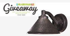 Minka Lavery Kirkham Outdoor Light Giveaway | Del Mar Fans