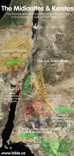 The Kenite traditional territory is transjordan between Babylon  the gulf of Aqaba so these are clearly the descendants of Abraham  Keturah. They had 6 sons:  Zimran, Jokshan, Medan, Midian, Ishbak,  Shuah.    Later Moses comes to Midian where he married Zipporah, daughter of Reuel/Jethro, the Kenite priest or prince of Midian.  It was inferred here by their residence the Kenites are somehow in lineages seed of Abraham.