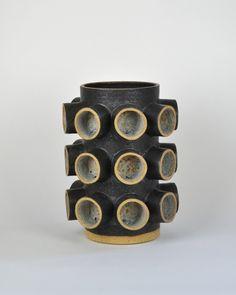Ben Medansky; Glazed Earthenware Vessel, 2010s.