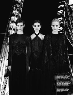 Manège Couture | Karl Lagerfeld #photography | Numéro 136 September 2012. It will look good for flamenco costume:)