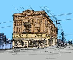 2152 Main Street Vancouver circa 1940's