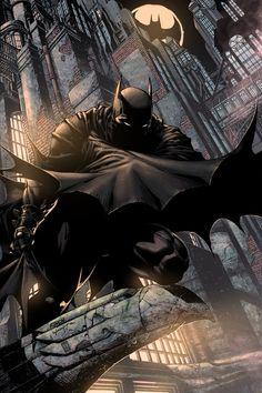 Batman Illustrations vía @Dani Arjalaguer