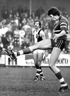 #31 Kelvin Templeton, Footscray Brownlow Medalist 1980.