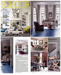 Beau Thom Filicia Featured In Elle Decor June 2013 Issue. Thom Designs A  Connecticut Retreat With
