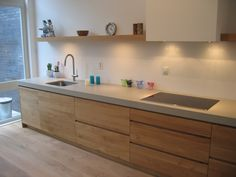 48 The Best Interior Design of a Wooden Kitchen - Wood Parquet