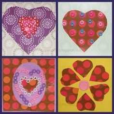 Upcycle/Recycle Tissue box cardboard to beautiful cards Great idea ~ msut try! Valentines Surprise, Valentines Art, Valentines Day Activities, Cardboard Box Crafts, Hobbies To Try, Box Patterns, Classroom Fun, Valentine Decorations, Tissue Boxes