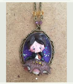 Polymer Clay Creations, Polymer Clay Jewelry, Diy Clay, Clay Crafts, Hery Potter, Chibi, Salt Dough, Clay Ideas, Fantastic Beasts