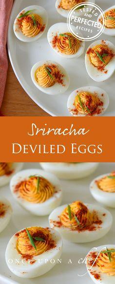 Sriracha Deviled Egg