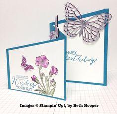 Beth Hooper, card swap, Stampin' Up!