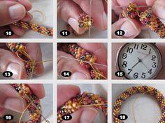 Adesso Jewelry bead crochet