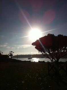 Balmoral beach, 7:13 am