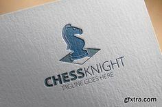Chess Knight Logo - CM 202650