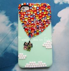 Original Balloon Crystal Bling Bling Phone Case by TwinkleCase, $34.99
