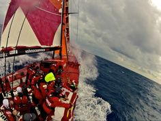 camper  during the volvo ocean race