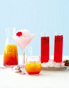 Deliciously festive summer cocktails