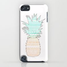 Tribal Pineapple  iPhone & iPod Case