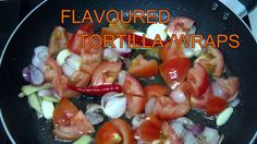 HOW TO MAKE FLAVOURED TORTILLA WRAPS from SCRATCH