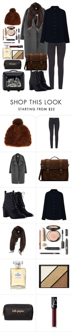 """ready for London"" by dayanamadness ❤ liked on Polyvore featuring Pologeorgis, Paige Denim, Dr. Martens, Zimmermann, Uniqlo, Nordstrom, Chanel, Elizabeth Arden, Neiman Marcus and NARS Cosmetics"
