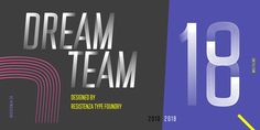 DreamTeam - Webfont & Desktop font « MyFonts