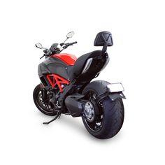 The Ducati Diavel Backrest Mount from Ellaspede