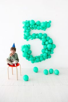 Giant Balloon Number